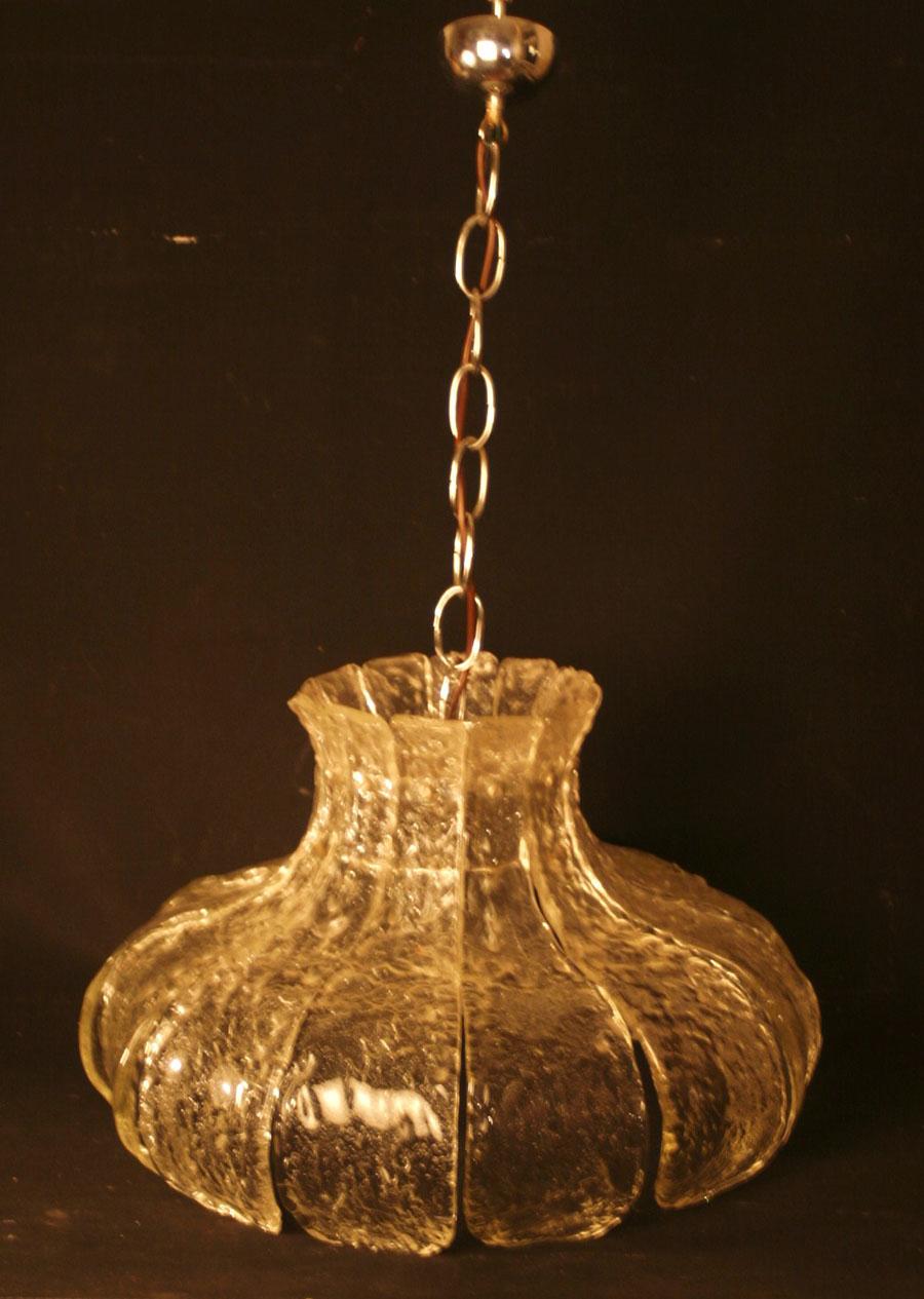 massive glas lampe wohl kalmar franken 11 6 kg ebay. Black Bedroom Furniture Sets. Home Design Ideas