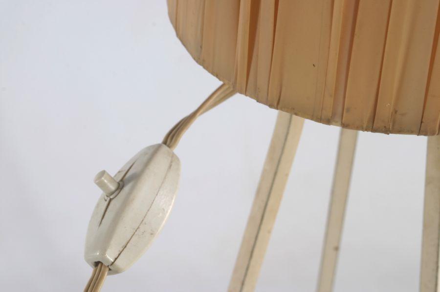 50er design stehlampe tripod lampe eames ra ebay for Eames lampe